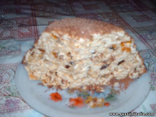 """©Рецепты Сайта """"Русские в Италии"""". """"Нежный торт"""" (без выпечки)."""
