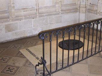 Место захоронения Леонардо да Винчи. Фото Peter Dutton с сайта wikipedia.org