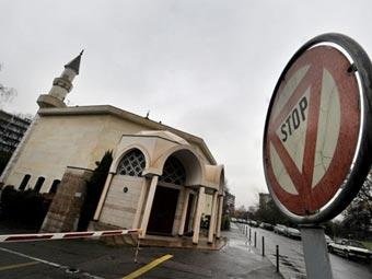 Вид на мечеть в Швейцарии. Фото ©AFP
