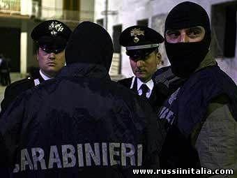 Итальянские полицейские. Фото ©AFP